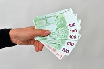 Schwarzgeld - Geldscheine