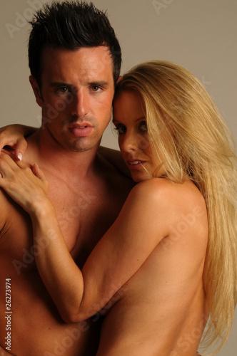 nude cuddle