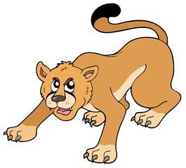 Cartoon puma