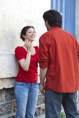couple amoureux première rencontre