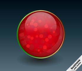Glitter Button