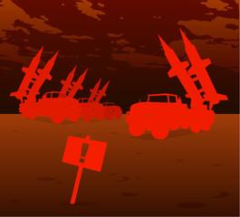 red missile warfare
