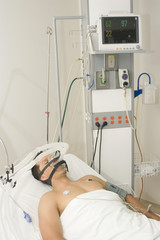 Patient receives anaesthetic