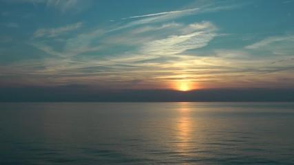 Sunset Ocean - Video - Sonnenuntergang Meer