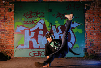 hip-hop dancer