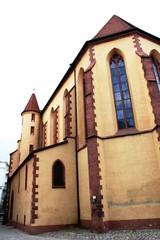 Eingangsseite der Dreifüßerkirche in Pforzheim