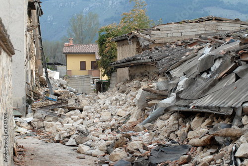 Leinwandbild Motiv Terremoto #2