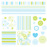Fototapety Decorative Design elements