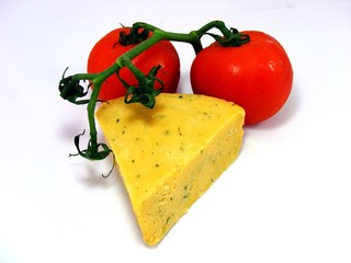 Chees and Tomatoes