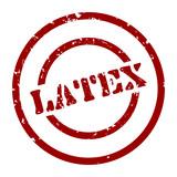 stempel latex I poster