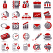 business Red Icons