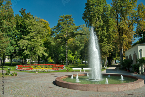 Brunnen im Kurpark Bad Mergentheim