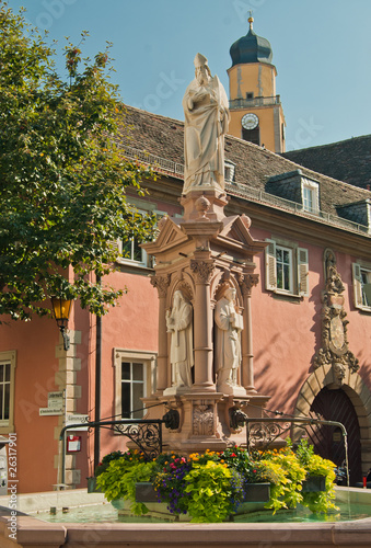 Bad Mergentheimer Brunnen am Gänsemarkt