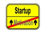 Motivation - Startup poster