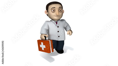 Doctor with Briefcase