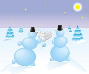 snowbowling