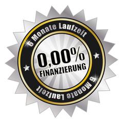 0%-Finanzierung, 6 Monate Laufzeit