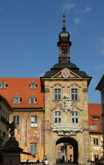 Bamberger altes Rathaus, Südseite