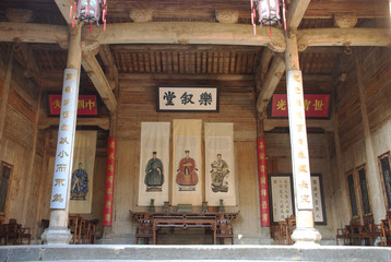 Chinese ancestral hall