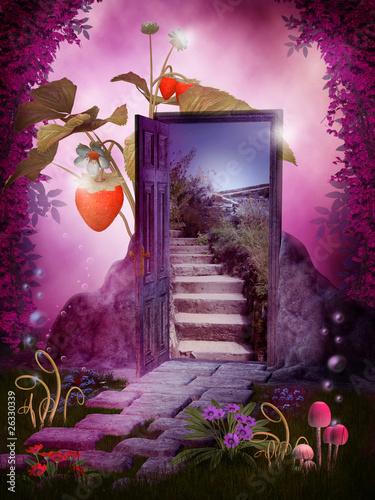 Zdjęcia na płótnie, fototapety na wymiar, obrazy na ścianę : Magiczny ogród 1