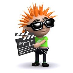 3d Punk movie maker