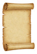 Old parchment scroll 1