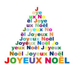 Joyeux Noël de couleur