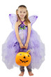 Child Dressed for Halloween