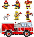 PixelArt: FireFighters