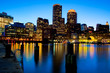 Boston Harbor in Massachusetts - USA