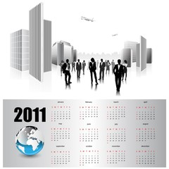 calendar for 2011.