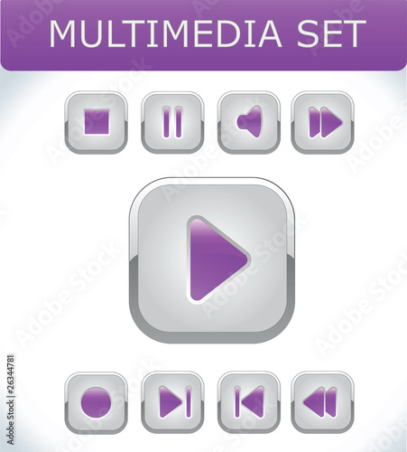 Violet multimedia set