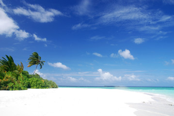Beach in Maldives