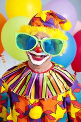 Humorous Birthday Clown