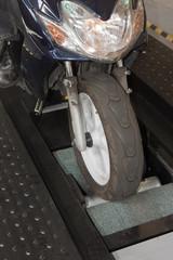 Banc de freinage deux-roues