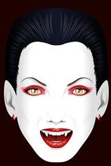 Vampire's grin