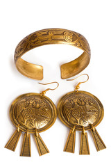 Traditional Russian Female Jewelry