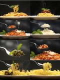 Spaghetti e risotti