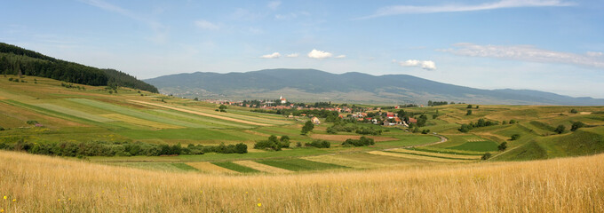 Counrtyside panorama