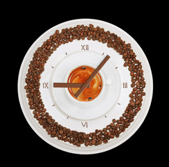 coffe clock