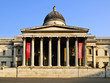 National Gallery building in London