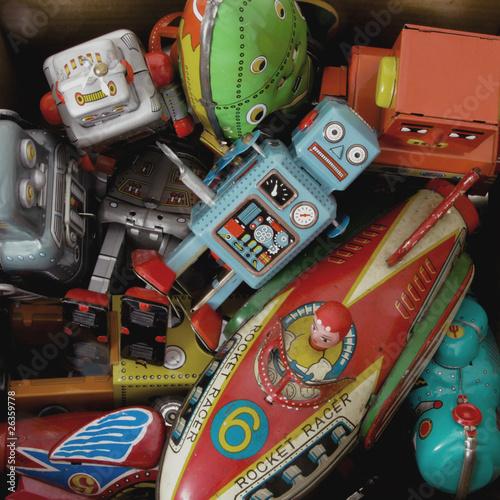 Foto op Canvas toys