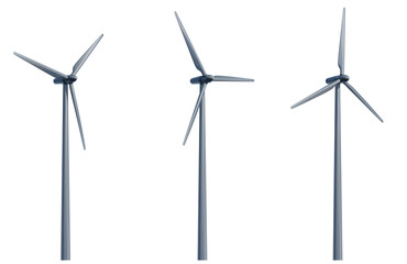 wind-stromgeneratoren freigestellt