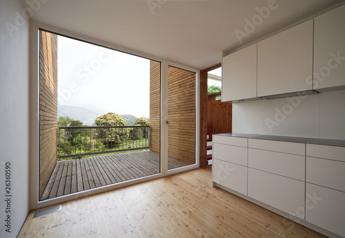 Interno di una casa moderna cucina immagini e - Interno di una casa ...