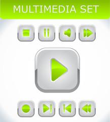 Orange multimedia set