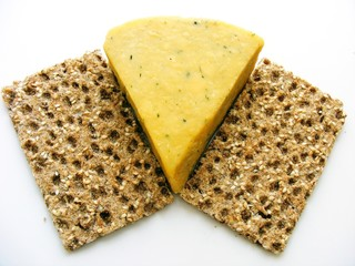 Crispbread and Cheese