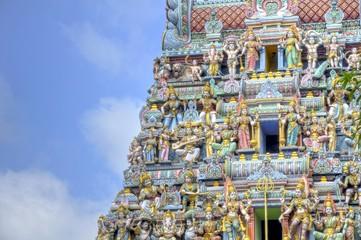 Details of a Gopuram