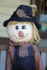 Rustic Straw Stuffed Doll