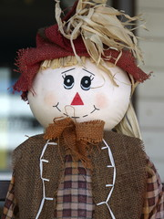 Straw Stuffed Country Doll