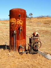 Rusty Water Well Pump